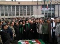حسینیه باغ بهشت همدان میزبان شهدای مقاومت