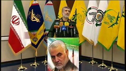 سردار حاجی زاده:آمریکا در صورت جواب دادن ۵ هزار کشته میداد/ حمله سایبری به موازات حمله موشکی
