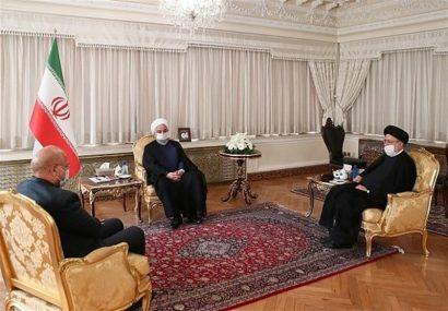 روحانی: همکاری و هماهنگی سه قوه می تواند به حل مسائل کشور کمک کند