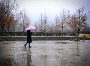 بارش ۹۶ میلیمتر باران در همدان