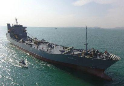 ناو اقیانوس پیمای شهید رودکی به نیروی دریایی سپاه ملحق شد