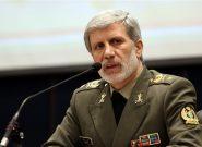 وزیر دفاع: راه شهید فخری زاده با قدرت ادامه خواهد یافت