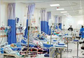 فوت ۸۷ بیمار کرونایی در شبانه روز گذشته/ شناسایی ۵۹۱۷ بیمار جدید