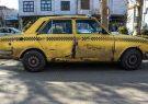 خروج ۵۰ تاکسی پیکان فرسوده از تاکسیرانی همدان