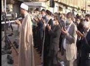برگزاری باشکوه نماز عید فطر زیر آسمان خدا