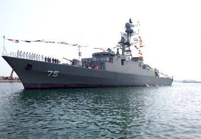 الحاق ناوشکن تمام ایرانی دنا به ناوگان نیروی دریایی ارتش 