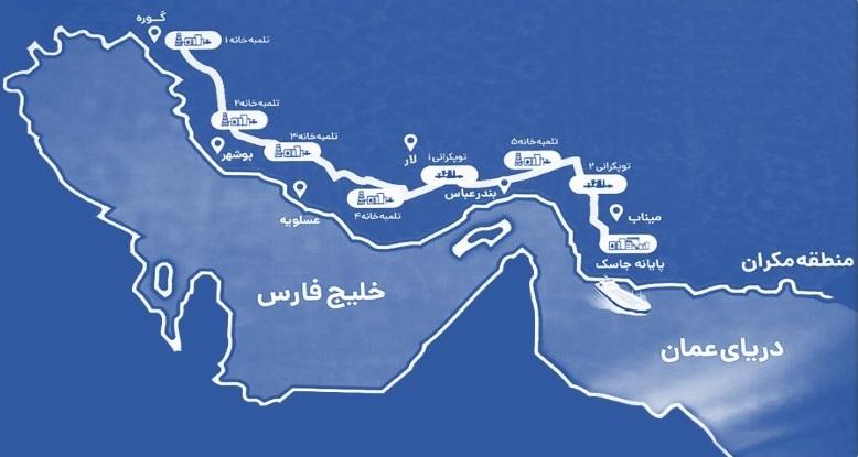 صادرات نفت ایران از پایانه جاسک آغاز شد