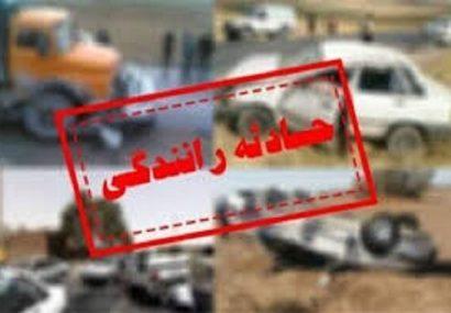 حادثه تلخ رانندگی و مرگ ۵ هم استانی دیگر