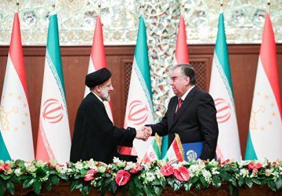 ۸ سند همکاری دوجانبه میان ایران و تاجیکستان امضا شد