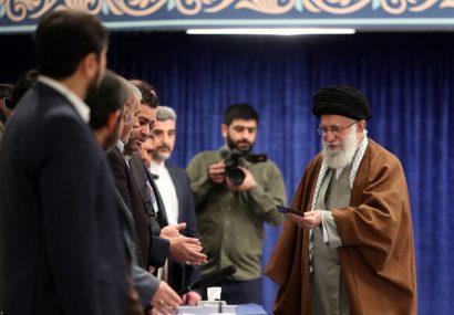 رهبر انقلاب جمعه ساعت ۷ صبح رای خود را به صندوق خواهند انداخت