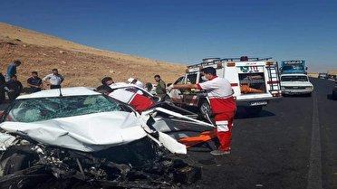 ۱۲ کشته و زخمی به دلیل سهل انگاری راننده